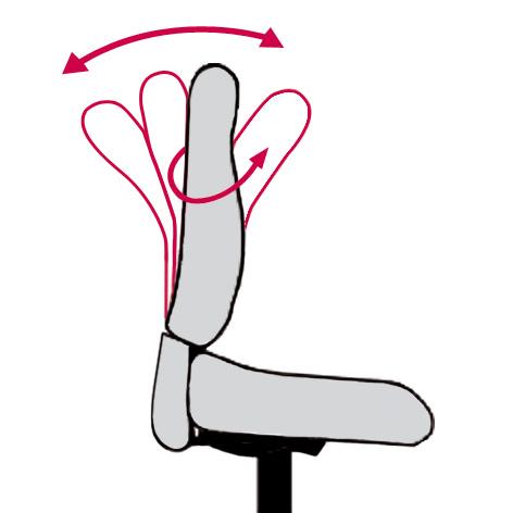 Flexible_Frauen_Rückenlehne_Lady_Flex