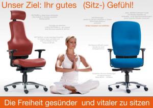 gesund und vital sitzen