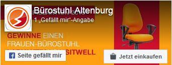 Zur Facebookseite von Bürostuhl Altenburg