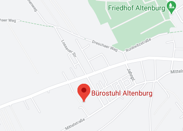 Google Anfahrt zu Buerostuhl-Altenburg