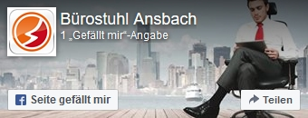 Zur Facebookseite von Bürostuhl-Ansbach