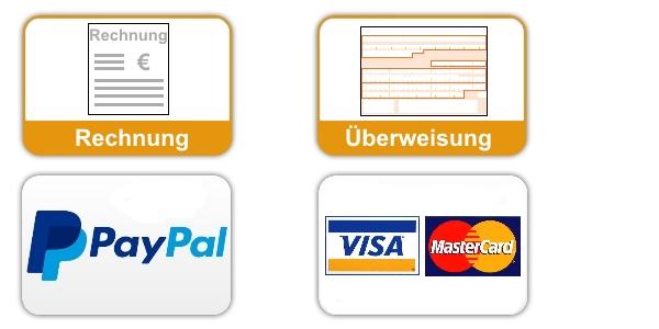Zahlungsarten bei Bürostuhl-Bonn