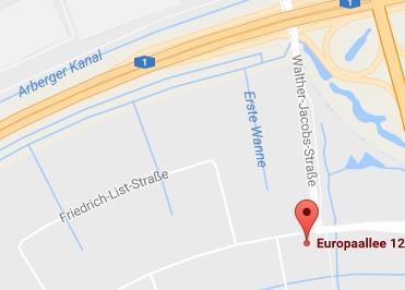 Google Anfahrt zu Bürostuhl-Bremen