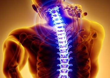 Schmerzen an der Wirbelsäule