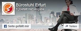 Zur Facebookseite von Bürostuhl-Erfurt