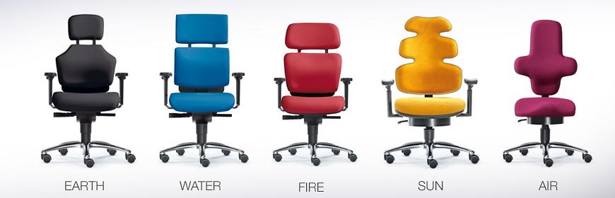 Designer Drehstühle von den Bürostuhl Experten Hamburg