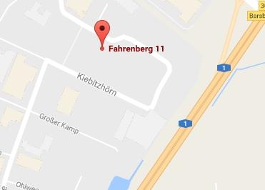 Google Anfahrt zu den Bürostuhl Experten Hamburg