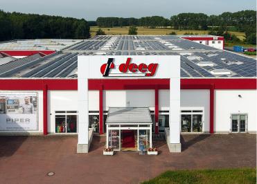Geschäft Außenansicht Bürostuhl Fabrikverkauf Berlin