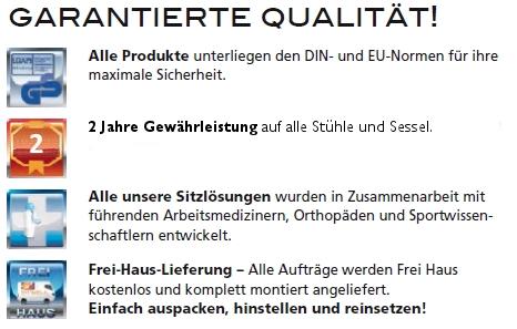 Garantierte Qualität bei Bürostuhl Fabrikverkauf Bitterfeld Köthen
