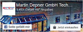 Zur Facebookseite von der Martin Depner GmbH
