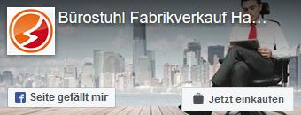 Zur Facebookseite von Bürostuhl Fabrikverkauf Hamburg