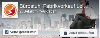 Zur Facebookseite von Bürostuhl Fabrikverkauf Leipzig