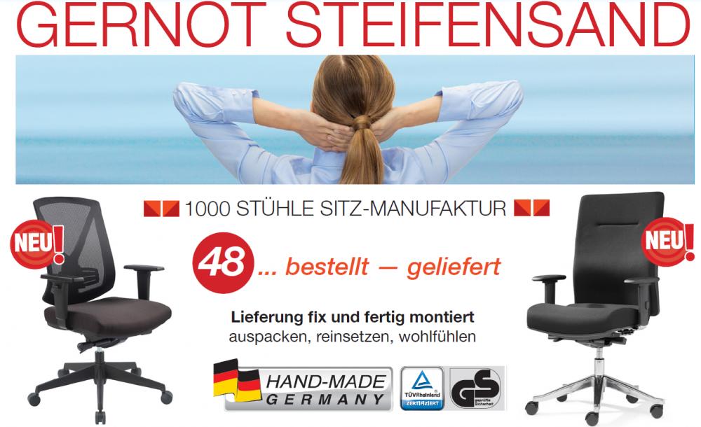 1000 Stühle Sitz-Manufaktur