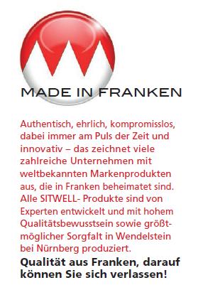 Made in Franken bei Bürostuhl Fabrikverkauf Schwerin