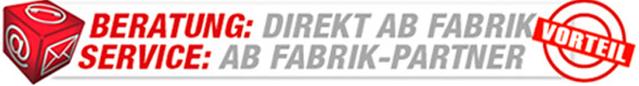 Direkt ab Fabrik in Frankfurt