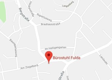 Google Anfahrt zu Bürostuhl-Fulda