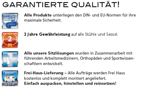 Garantierte Qualität in Glauchau