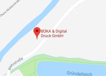 Google Anfahrt zu Bürostuhl-Glauchau