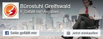 Zur Facebookseite von Bürostuhl-Greifswald
