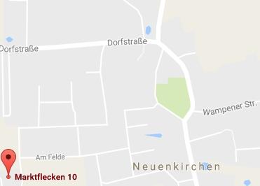Google Anfahrt zu Bürostuhl-Greifswald