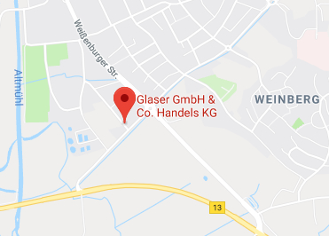 Google Anfahrt zu Buerostuhl Gunzenhausen