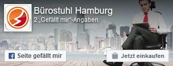 Zur Facebookseite von Bürostuhl-Hamburg