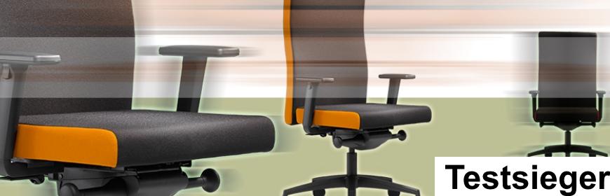 Testsieger von Bürostuhl-Hameln-Pyrmont