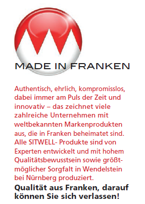 Made in Franken bei Buerostuhl-Lutherstadt-Wittenberg