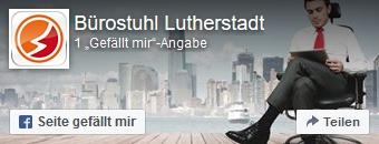 Zur Facebookseite von Bürostuhl-Lutherstadt