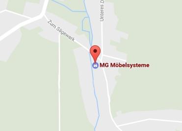 Google Anfahrt zu Bürostuhl-Lutherstadt