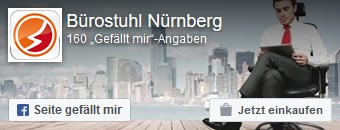 Zur Facebookseite von Bürostuhl-Nürnberg