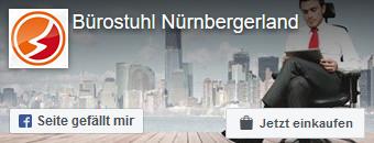 Zur Facebookseite von Bürostuhl Nürnbergerland