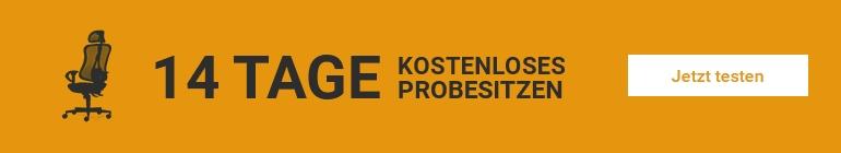 14 Tage Probesitzen bei Bürostuhl Regensburg