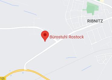 Google Anfahrt zu Bürostuhl Rostock