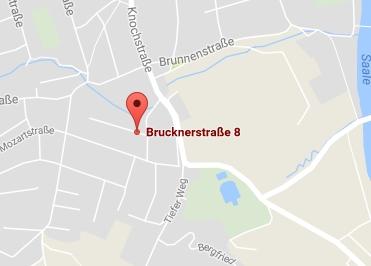 Google Anfahrt zu Buerostuhl-Saalfeld-Rudolstadt