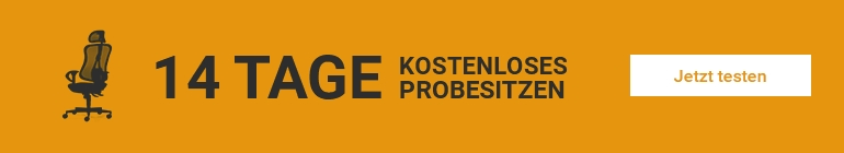 14 Tage Probesitzen bei Bürostuhl Siegen