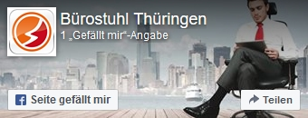 Zur Facebookseite von Bürostuhl-Thüringen