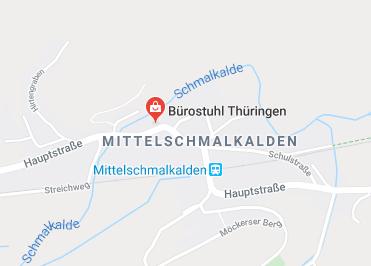 Google Anfahrt zu Bürostuhl-Thüringen