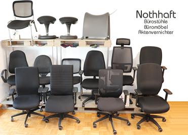 Unsere Stuhlausstellung bei Bürostuhl Wangen