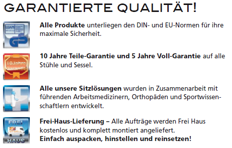 Garantierte Qualität in Nürnberg