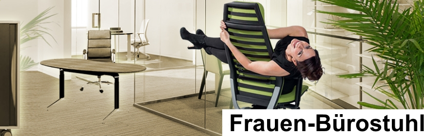 Frauen-Bürostuhl von Gesund sitzen Leipzig