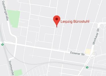 Google Anfahrt zu Leipzig Bürostuhl